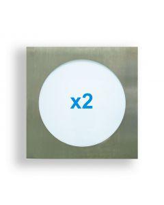 Comexio Effect Light Edelstahl Einführungs Spar Set
