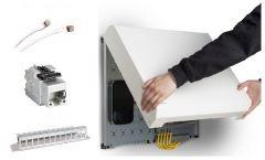 Mini Netzwerkschrank Spar Set